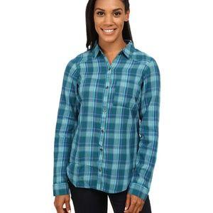 Columbia Piper Ridge Long Sleeve Plaid Shirt Small